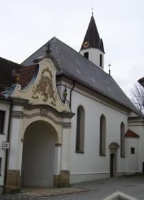 Die Kath Pfarrkirche St Sebastian In Oberkirchberg