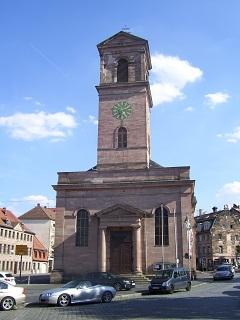 Die kath. Kirche Unsere Liebe Frau in Fürth