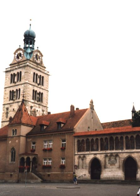 Foto von St. Emmeram in Regensburg