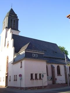Die kath. Kirche St. Georg in Rüsselsheim